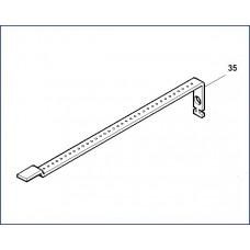 Планка перфорир. для концевых выключателей Came ATI 3 119RID216
