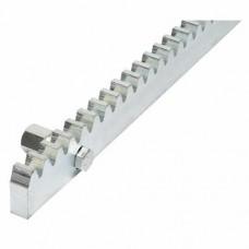 Зубчатая рейка ROA8 оцинкованная - 1 м.п.