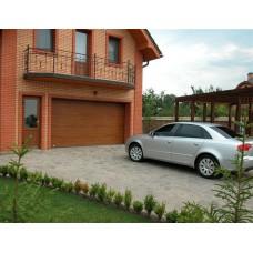 Автоматические секционные гаражные ворота Картек GSW 40